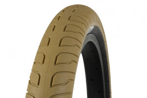 FEDERAL RESPONSE TIRE GOLD W/BLACK SIDEWALL 2.5""