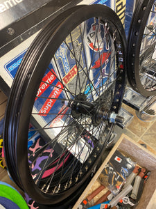 "20"" SUN BFR MID SCHOOL BLACK WHEEL SET 14MM (ONLINE ORDER ONLY)"