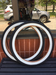 20 White Wall Tire 195 For Old School BMX