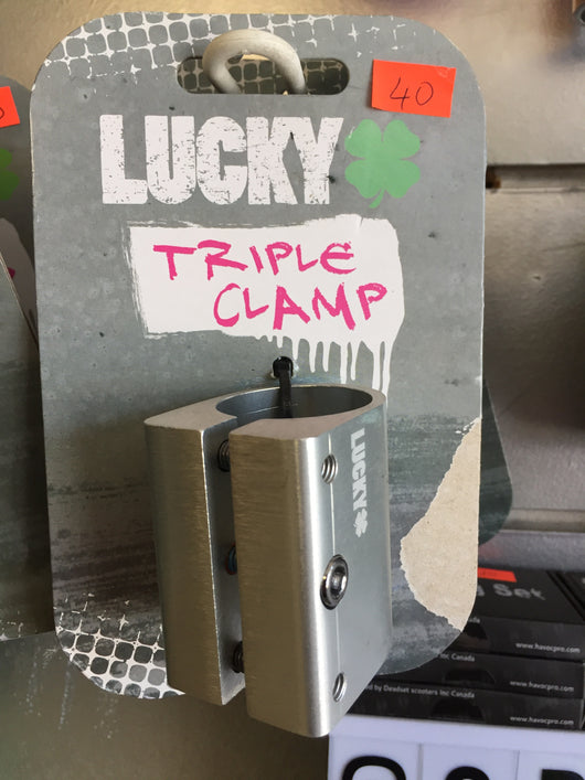 Lucky Triple Clamp