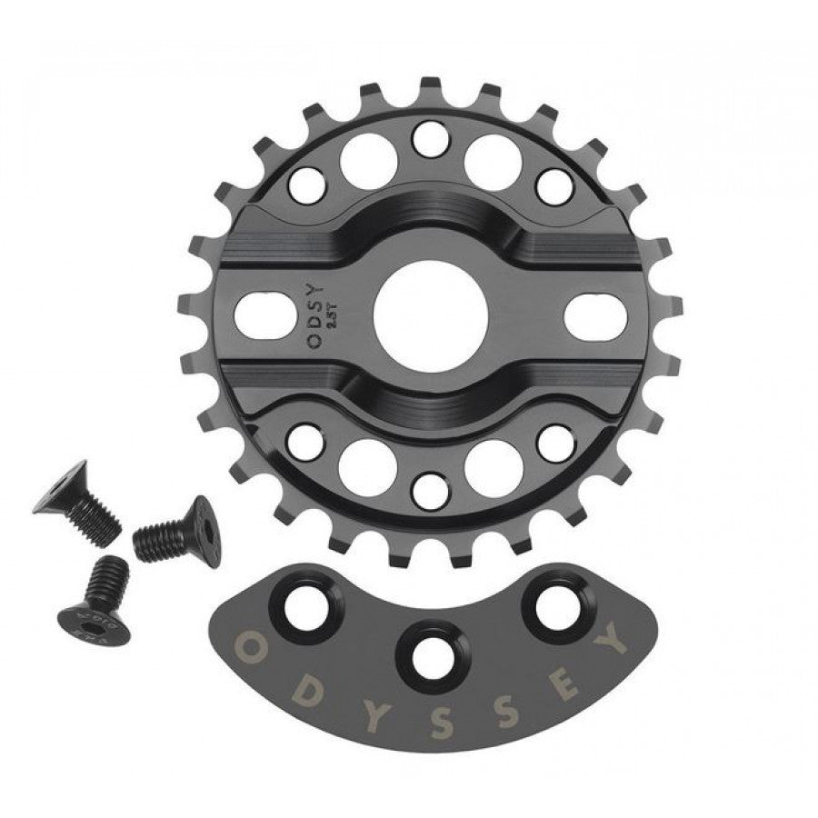 Odyssey Half Bash Sprocket - Black