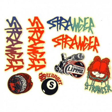 Stranger Sticker Pack - 8 Assorted