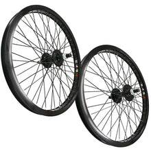 "Load image into Gallery viewer, 20"" SUN BFR MID SCHOOL BLACK WHEEL SET 14MM (ONLINE ORDER ONLY)"