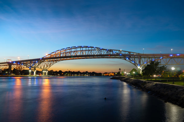 Blue Water Bridge - Stunning Photo Chalkboards