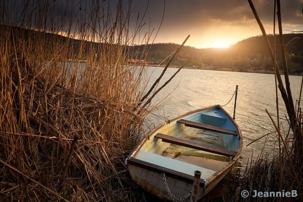 Old Boat - Stunning Photo Chalkboards