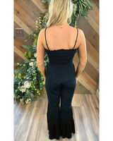 Tiered Leg Jumpsuit