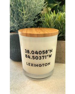 Lexington Coordinates Candle