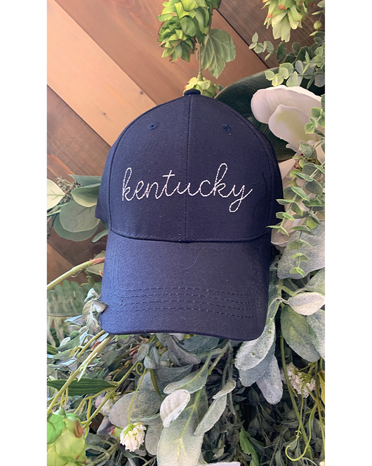 Kentucky Hat in Navy