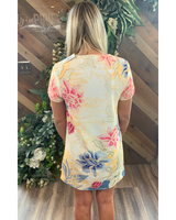 Floral Tee Dress