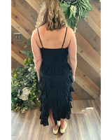 Frilly Dress in Black