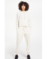 Ambre Speckled Jogger Pant in Natural