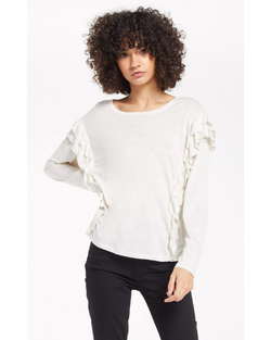 Adele Sparkle Ruffle Top