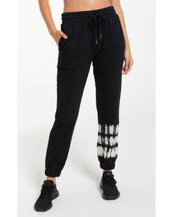 Selene Stripe Tie Dye Fleece Jogger
