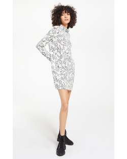 Constance Swirl Long Sleeve Dress