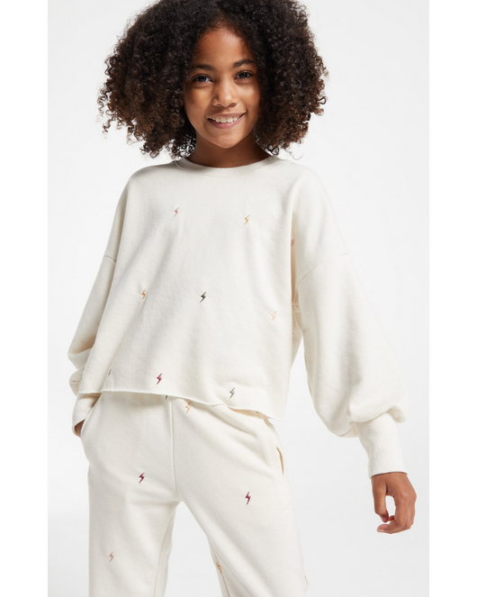 Girls Kira Mini Bolt Pullover