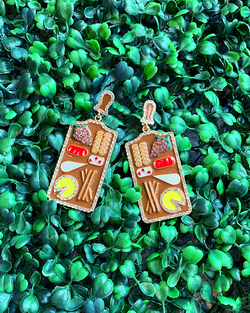 CHARCUTERIE BOARD EARRINGS