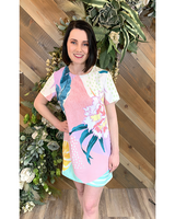Tropical Shift Dress