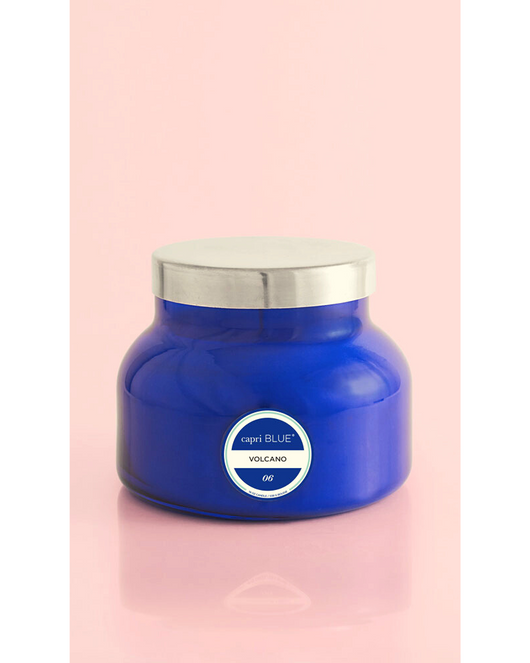 Signature Volcano Candle 19oz. Blue Jar