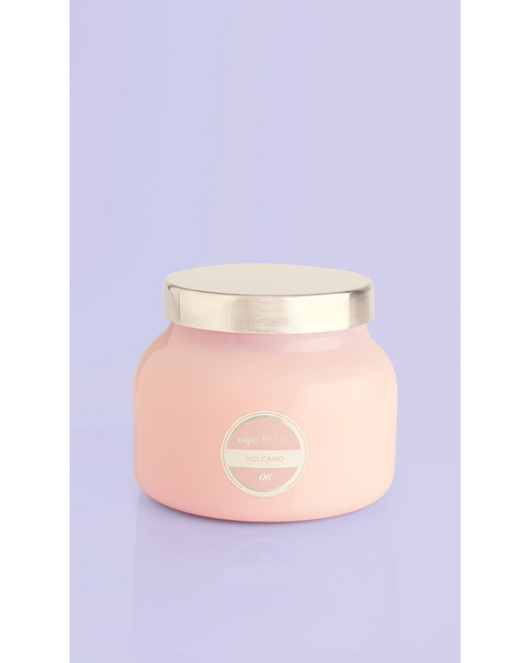 Signature Volcano Candle 19oz. Pink Jar