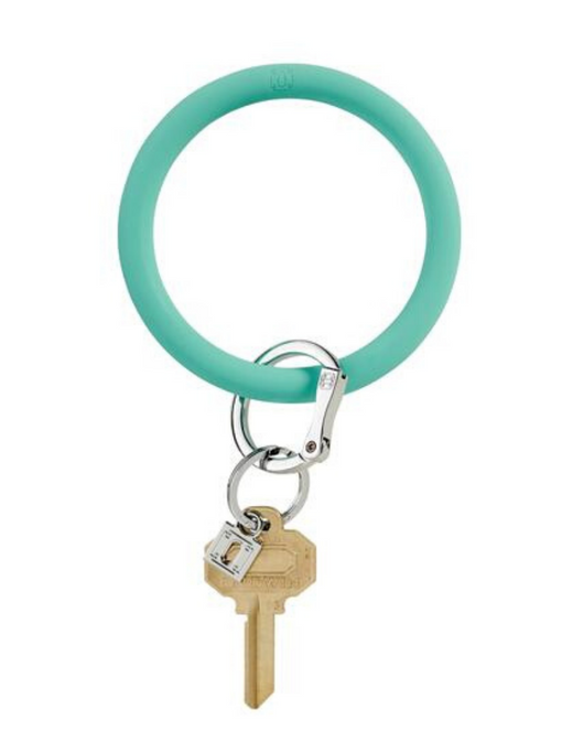 Silicone Key Ring in Pool