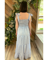 Smock Maxi in Blue