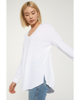 V-Neck Weekender in White