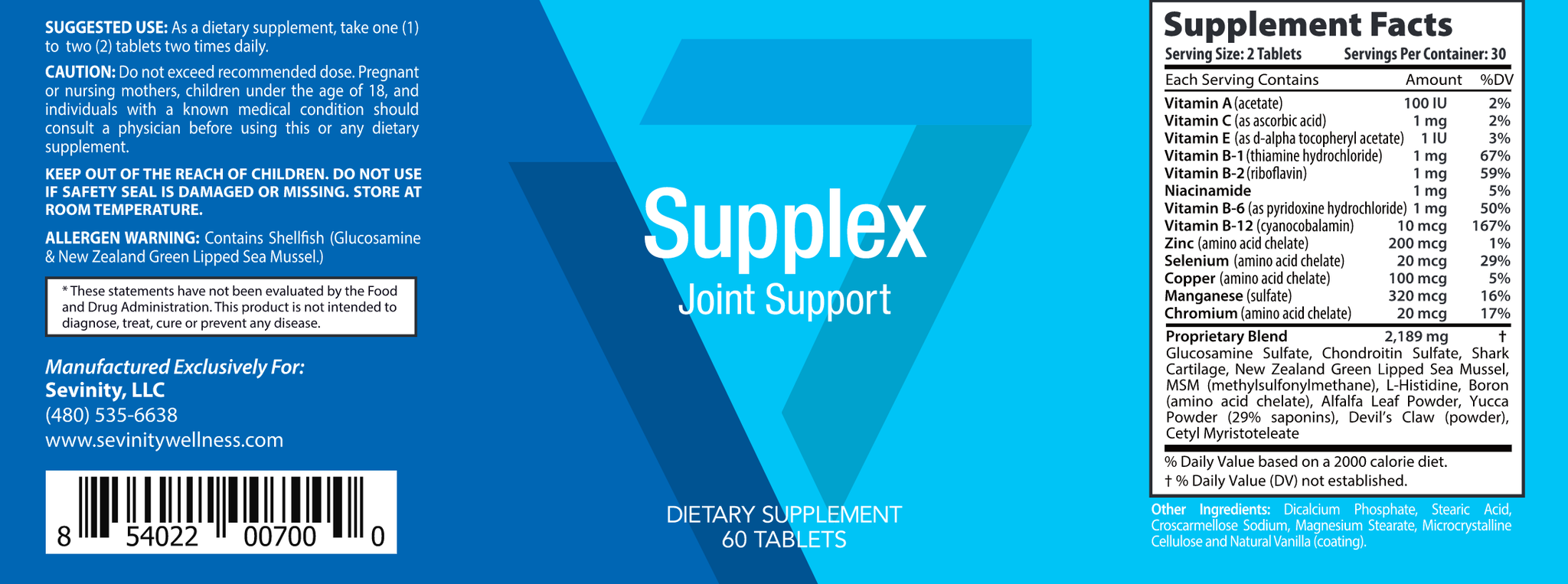 Supplex Joint Support
