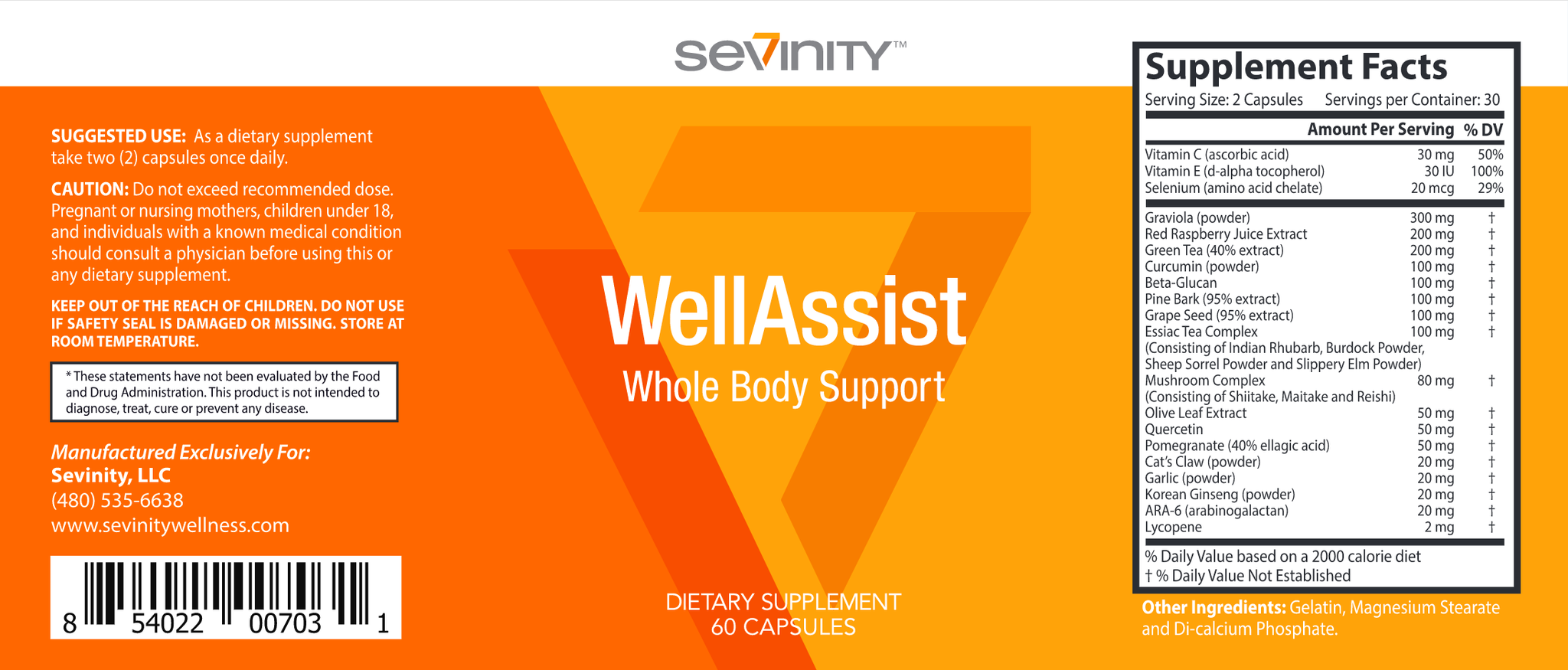 WellAssist Whole Body Support