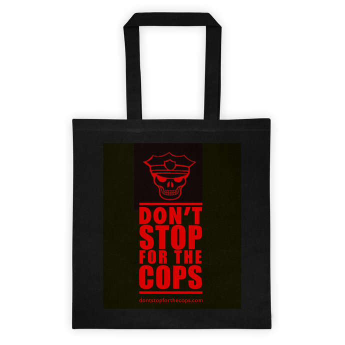 EXCLUSIVE BLACK DON'T STOP Tote bag