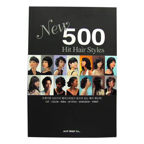 New 500 Hit Hair Styles Book