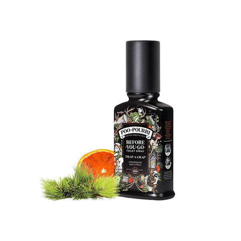 Poo-Pourri Before-You-Go Toilet Spray - Trap-A-Crap - 4 sizes