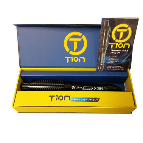 Tron Brush Iron Pro v1 4-in-1: Dryer+Straightener+Curling Iron+Brush