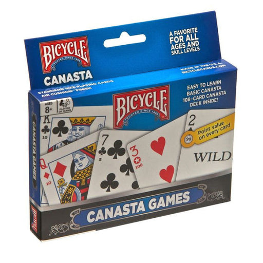 Bicycle Canasta 2 Pack