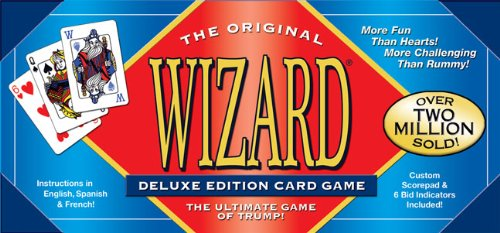WIZARD CARD GAME DELUXE