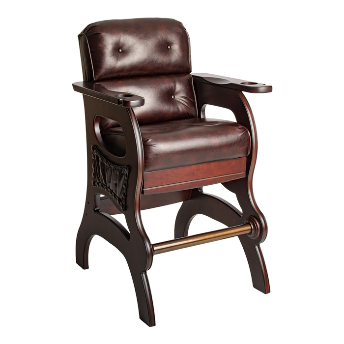 Mann Sports Theater Chair W/Leather