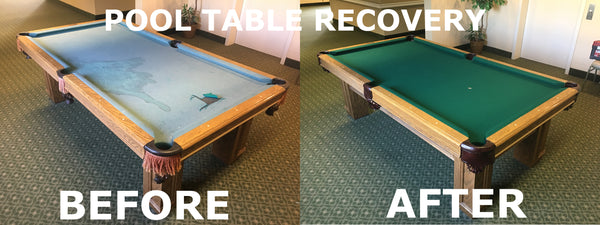 Recover Pool Table