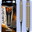 Mission Ardent Darts - Soft Tip Brass - Twin Machined - Barrel Weight 16.0g - M1 - Linear Ring - 18g ST