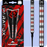 Mission Paradox Darts - Soft Tip Tungsten - Barrel Weight 19.5g - M1 - Straight - Electro - Black & Red - 21g ST