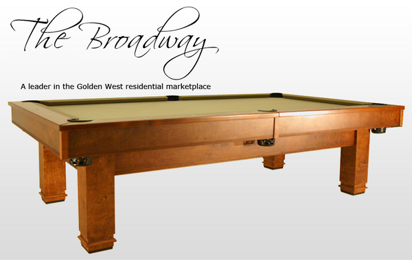 New Billiards Table For Sale Call Us Now Goldenwestgames