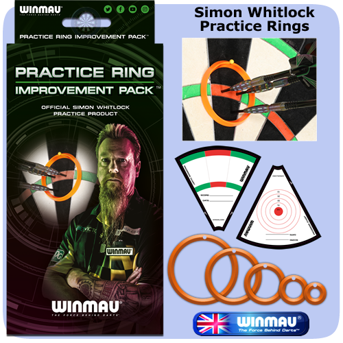 Winmau Practice Rings - Simon Whitlock Practice Product - Improvement Pack