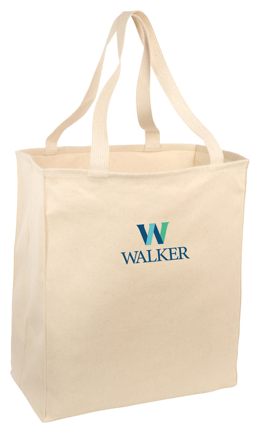 WFS -B110- Port Authority® Over-the-Shoulder Grocery Tote