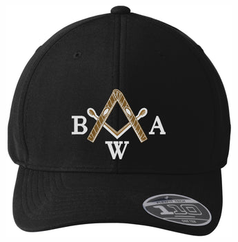 BWA - Cool & Dry Mini Pique Cap - BLACK