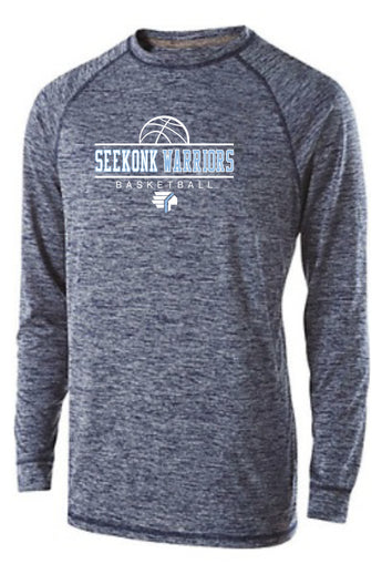 Seekonk BB Adult Long Sleeve Performance Tshirt