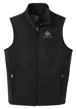 DL - J325 - BLACK Softshell Vest