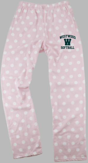 WSB - Boxercraft Pink Polka Dot Pants (Youth & Adult)