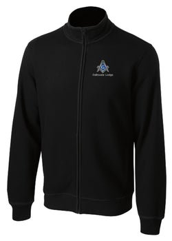 DL - ST259 - Sport-Tek® Full Zip Cadet Collared Sweatshirt