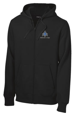 DL - ST258 - Sport-Tek® Full Zip Hooded Sweatshirt