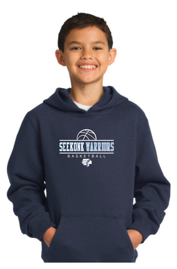 Seekonk BB Youth 9 oz. Hoodie
