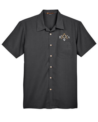 BWA - Barbados Textured Camp Shirt