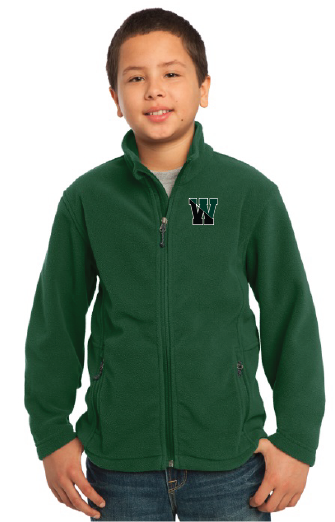 WSB - PA Fleece Zip Up Jacket YOUTH